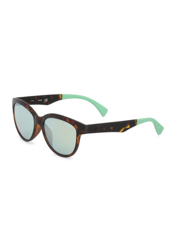Guess zonnebril - bruin/torquise - GU7433