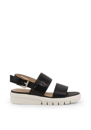 Geox Sandalen - zwart/creme - WIMBLEY