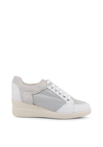Geox Baskets - blanc / gris - STARDUST
