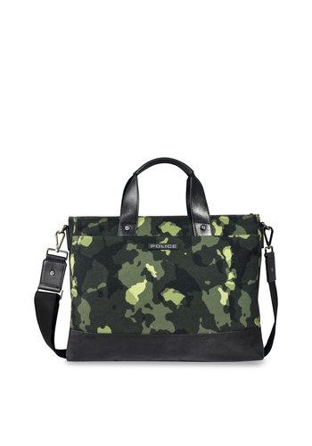 Police Police - trousse pour ordinateur portable - camouflage vert - PT032053