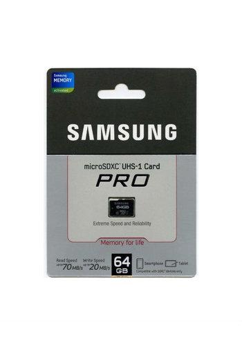Samsung Carte Micro SD Pro 64 Go