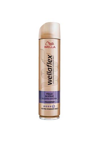 Wella Fixatif pour les cheveux - cheveux fins - ultra fort - numéro 5 -250 ml