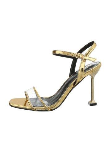 Neckermann Chaussure ouverte pour femme avec talon - Jaune