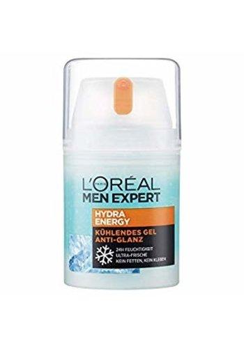 L'OREAL Men Expert Hydra Energy Cooling Gel ultra fris - 50 ml