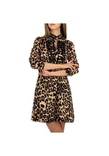 SHK PARIS Damen Kleid von SHK Paris - leopard