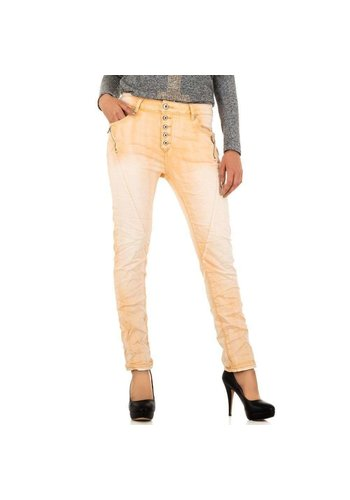 Mozzaar Jeans Femme Mozzaar - Abricot