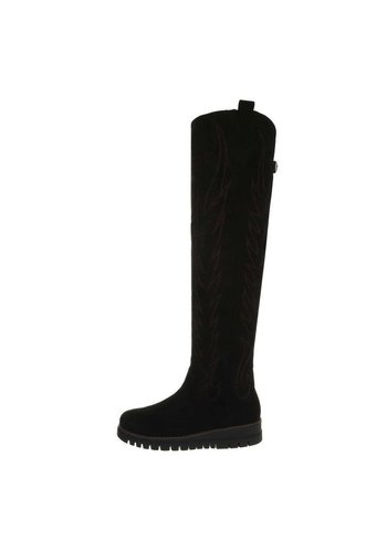 Neckermann Damen Overknee-Stiefel - black