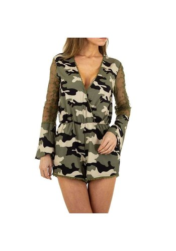 Neckermann Damesjumpsuit van Emmash Paris - camouflage