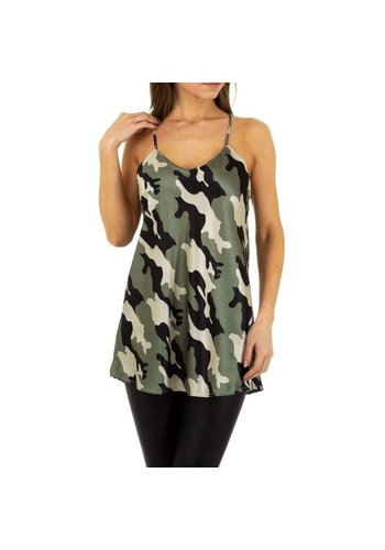 Neckermann Ladies Top Emmash Paris - camouflage