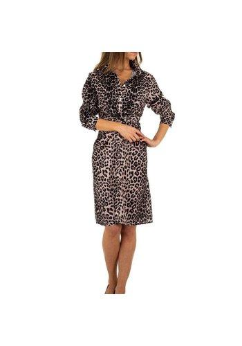 Neckermann Damen Kleid von Emmash Paris - leopard
