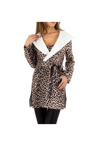 Neckermann Damen Mantel von Emmash Paris - leopard