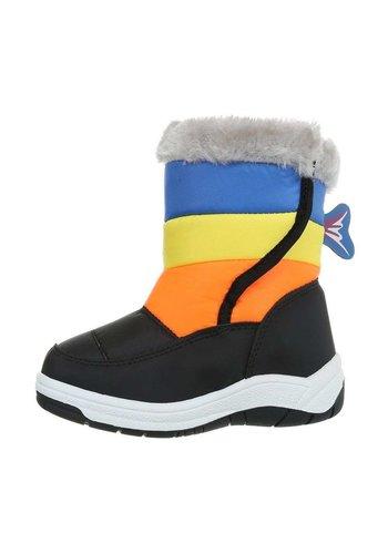 Neckermann Kinder Boots- zwartgeel