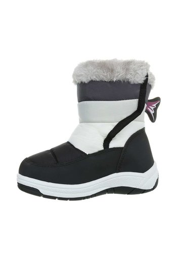 Neckermann Kinder Boots- zwartwit