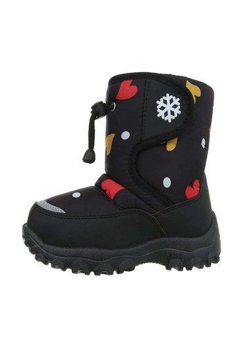 Neckermann Kinder Boots - Zwart Rood