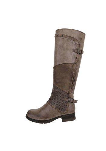 Neckermann Damen Klassische Stiefel - khaki