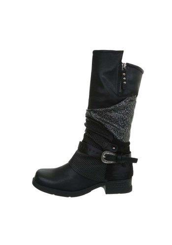 Neckermann Damen Klassische Stiefel - schwarz