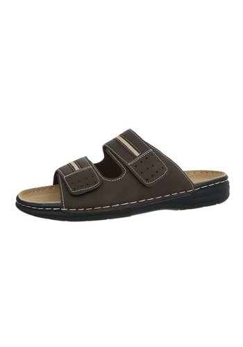 Neckermann Heren sandalen - koffie