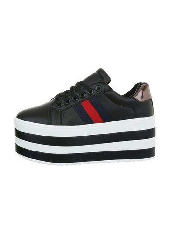 Neckermann Damen Low-Sneakers - schwarz