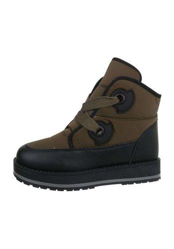 Neckermann Dames Boots - Groen
