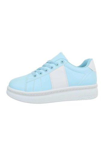 Neckermann Damen Low-Sneakers - bluewhite