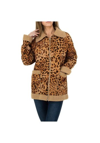 JCL Damen Mantel von JCL - leopard