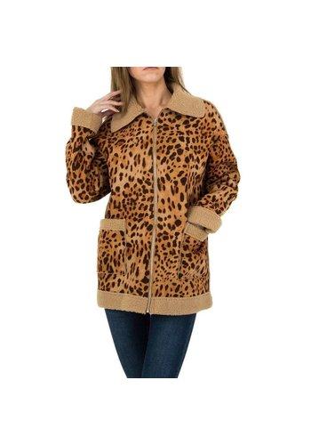 JCL Damesjas van JCL - leopard