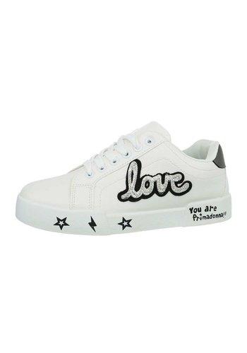 Neckermann Damen Low-Sneakers - white
