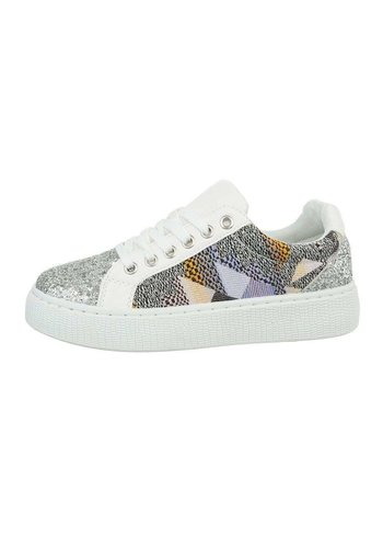 Neckermann Lage sneakers voor dames, wit