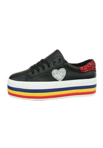 Neckermann Damen Low-Sneakers - black
