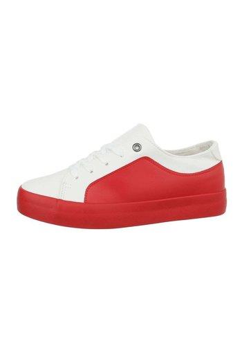 Neckermann Damen Low-Sneakers - whitered