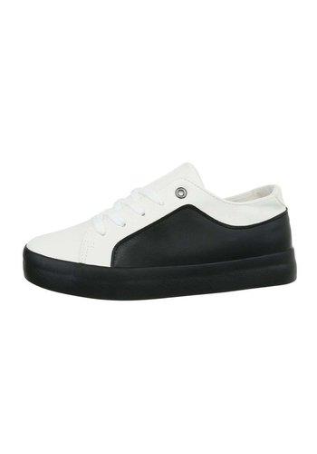 Neckermann Damen Low-Sneakers - whiteblack