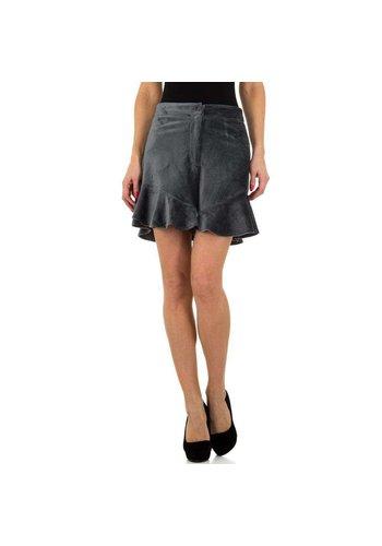 JCL Short Femme par JCL - gris