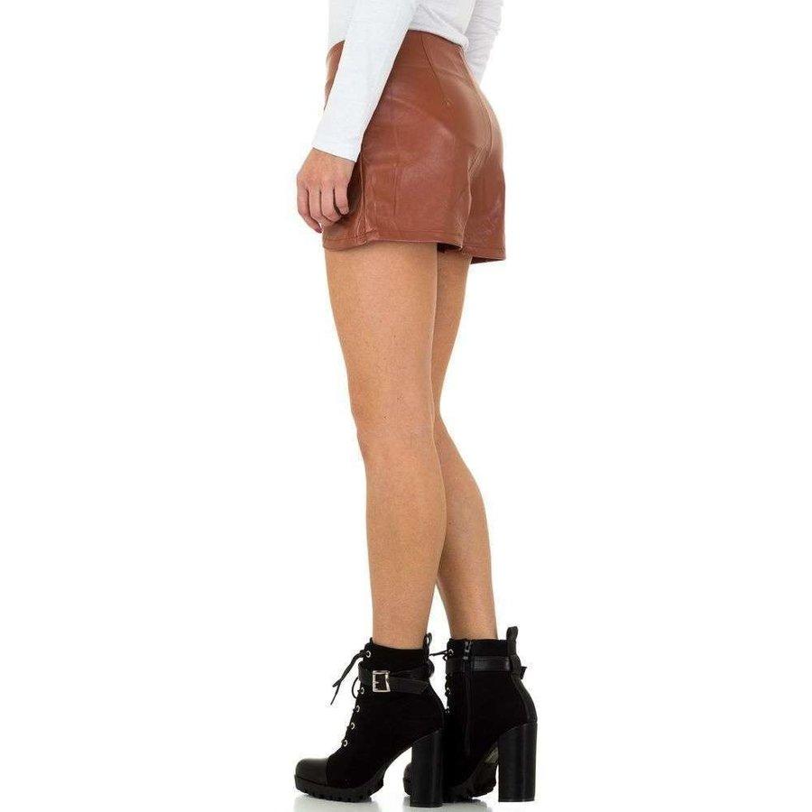Dames shorts van JCL - bruin