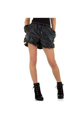 JCL Short Femme par JCL - noir