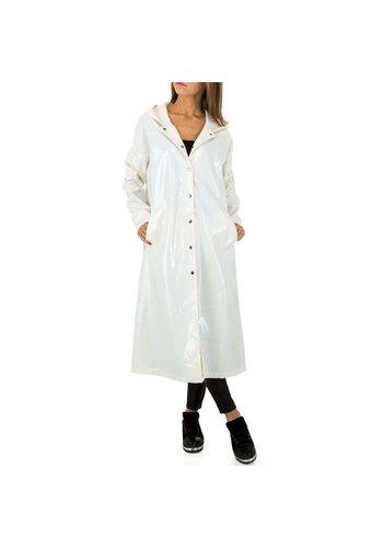 JCL Manteau pour femme par JCL - blanc