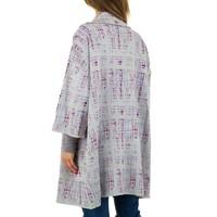 Damen Mantel von JCL - grey