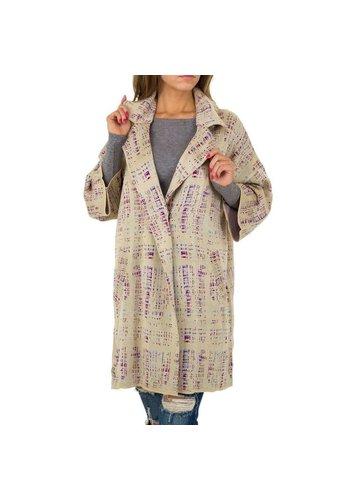 JCL Damen Mantel von JCL - beige