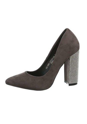 Neckermann Chaussures pour femmes avec talon haut - gris