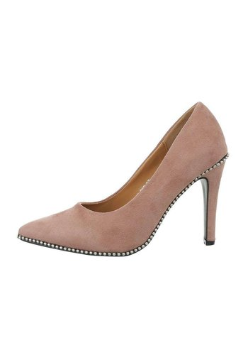 Neckermann Dames pumps met hoge hak - roze