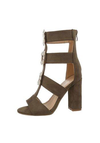 Neckermann Damen offener Schuh High Heel grün