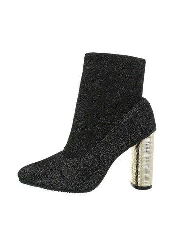 Neckermann Damen High-Heel Stiefeletten - grey