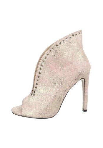 Neckermann Dames peep-toes - champane