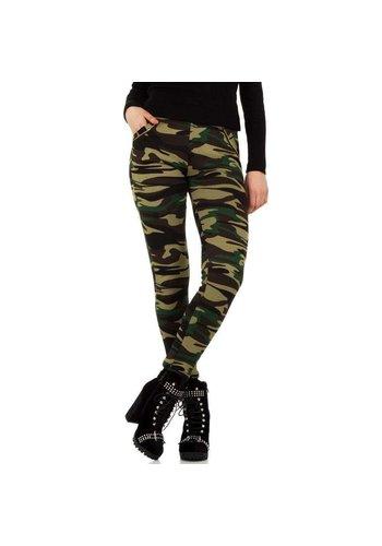 HOLALA Pantalon femme Holala - camouflage