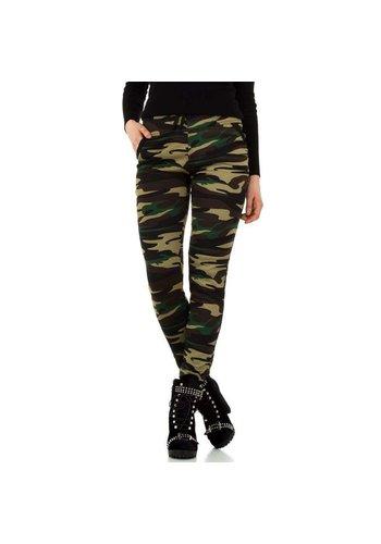 HOLALA Damesbroek van Holala - camouflage