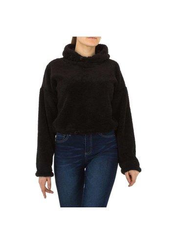 Neckermann Damen Sweatshirt von Voyelles - black