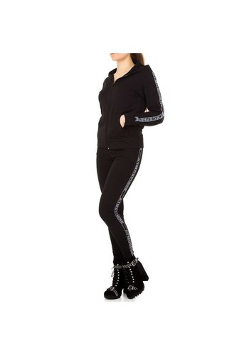 Neckermann Dames Jogging pak  van Holala - zwart