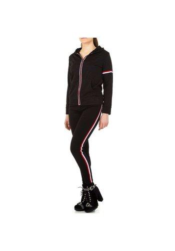 Neckermann Combinaison de jogging pour femme Holala - noire