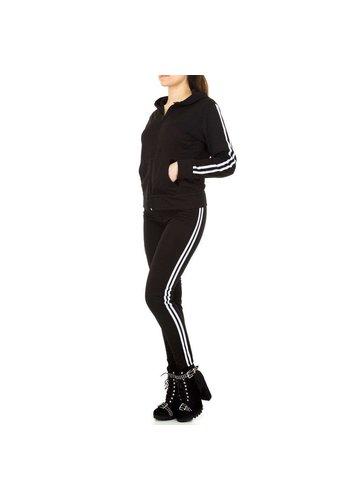 HOLALA Dames Jogging pak  van Holala - zwart