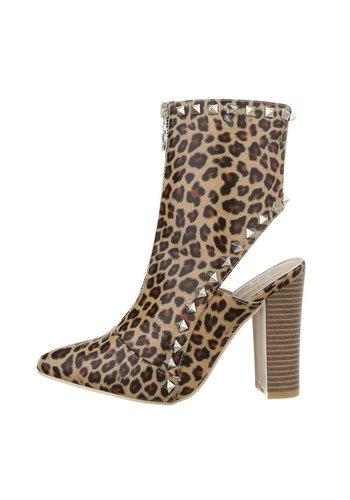 Neckermann Mesdames bottes hautes léopard JR-036