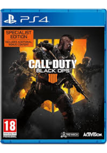 PS4 Call of Duty: Black Ops 4 - Édition spécialisée - PS4